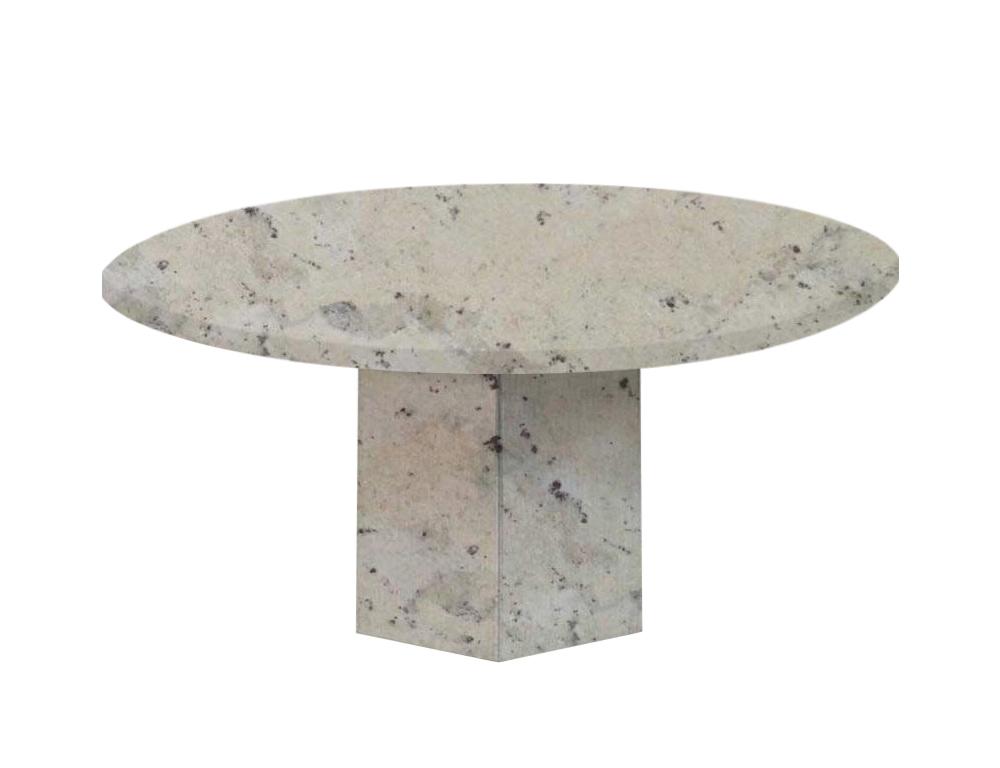 Andromeda Gala Round Granite Dining Table