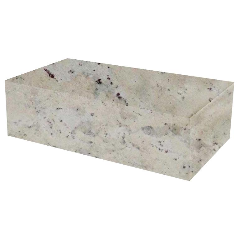 Andromeda Rectangular Solid Granite Coffee Table