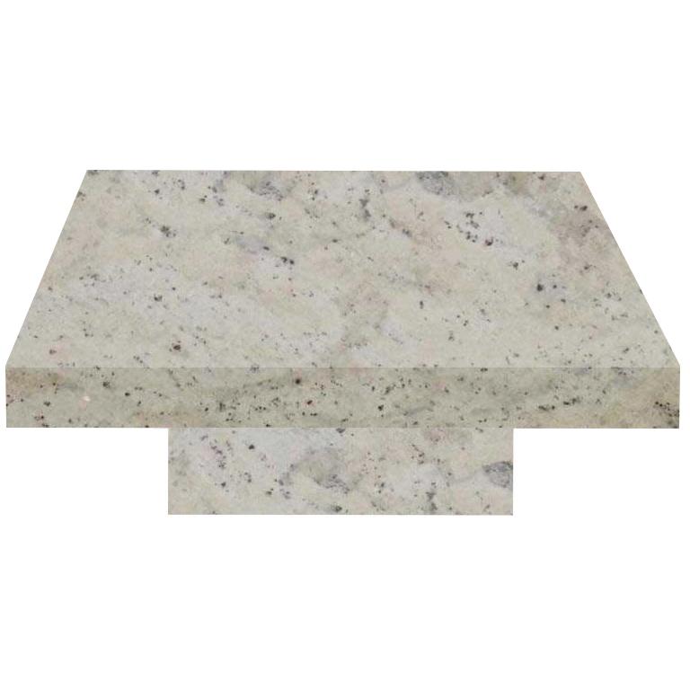 Andromeda Square Solid Granite Coffee Table