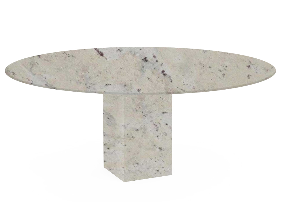 Andromeda Arena Oval Granite Dining Table