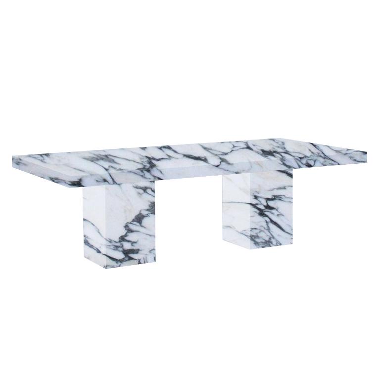 Arabescato Corchia Bedizzano 10 Seater Marble Dining Table