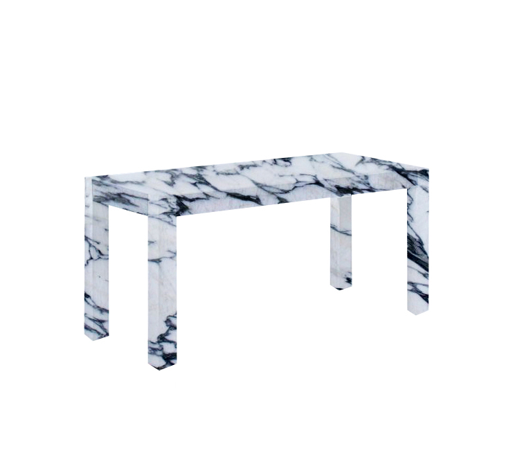 Arabescato Corchia Canaletto Solid Marble Dining Table