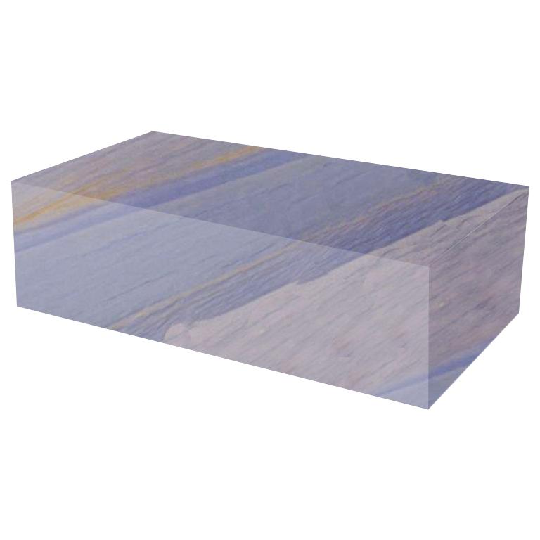 Azul Macaubas Rectangular Solid Granite Coffee Table