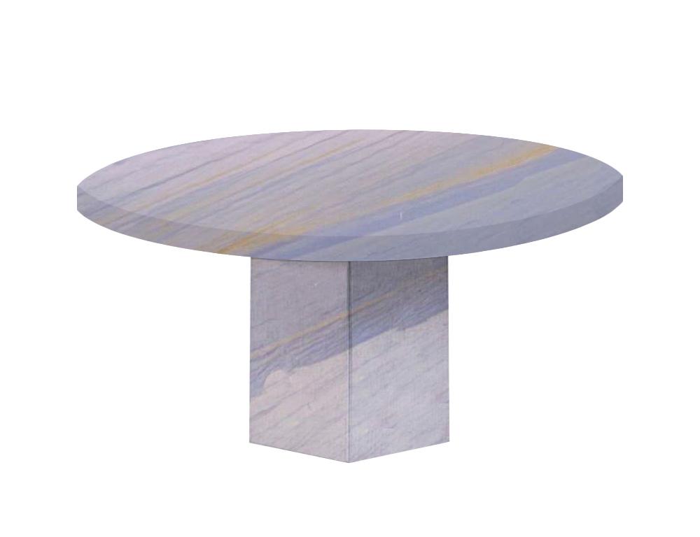 Azul Macaubas Santa Catalina Round Granite Dining Table
