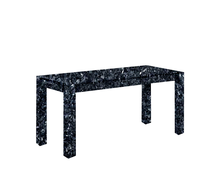 Blue Pearl Canaletto Solid Granite Dining Table