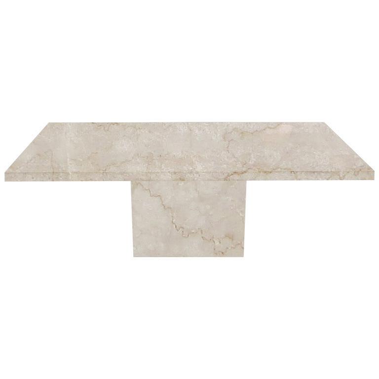 Botticino Classico Torano Marble Dining Table
