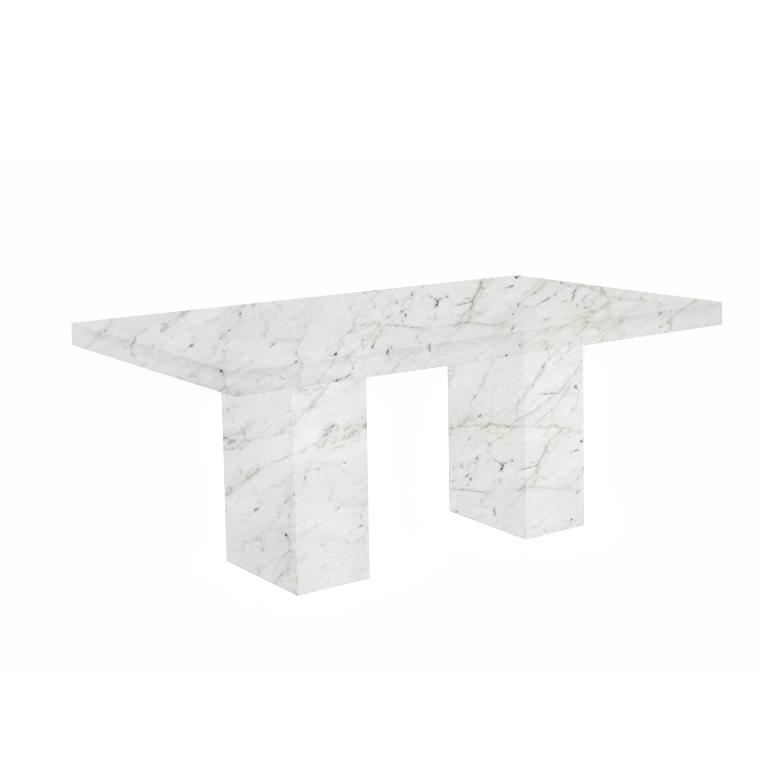 Calacatta Colorado Codena Marble Dining Table