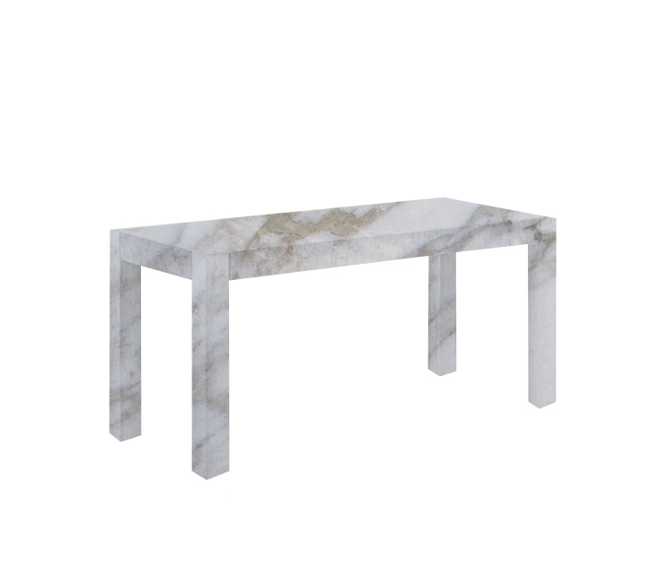 Calacatta Oro Canaletto Solid Marble Dining Table
