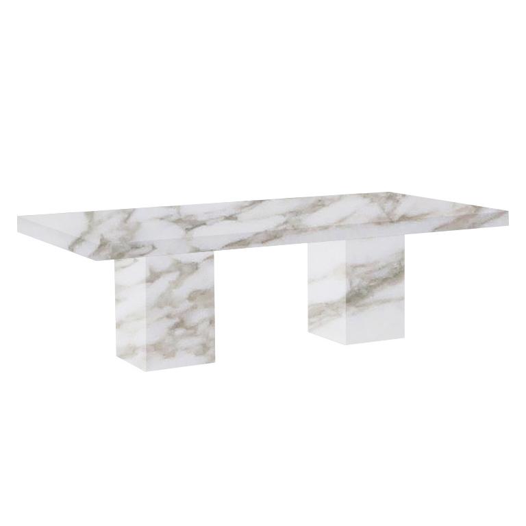 Calacatta Oro Extra Bedizzano 8 Seater Marble Dining Table