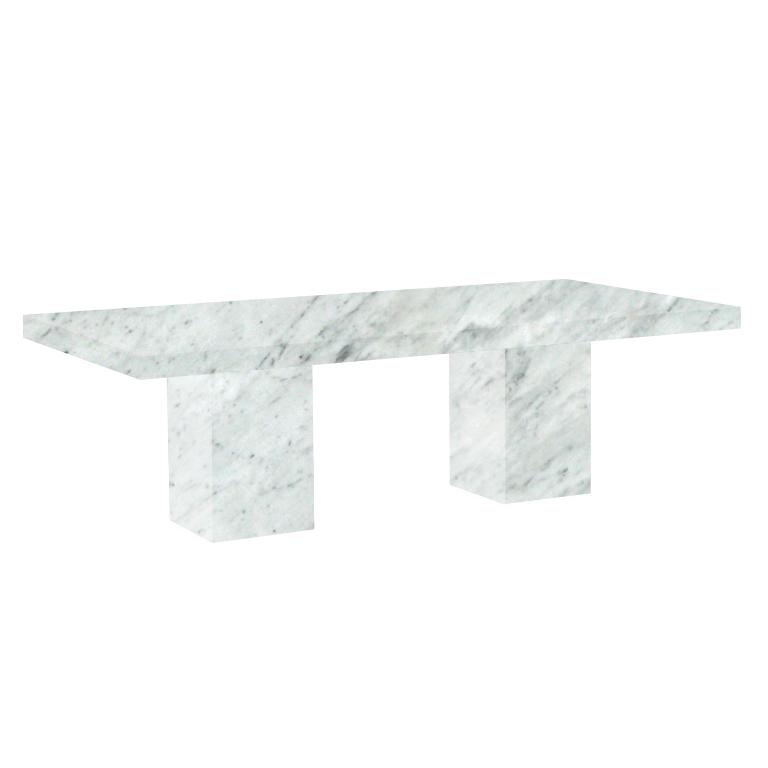 Carrara Extra Bedizzano 8 Seater Marble Dining Table