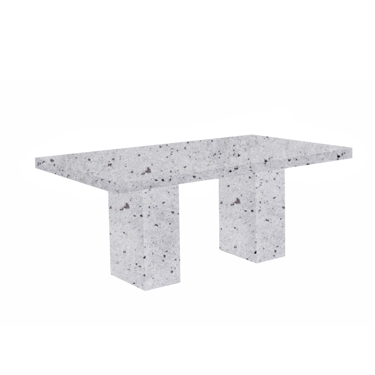 Colonial White Codena Granite Dining Table