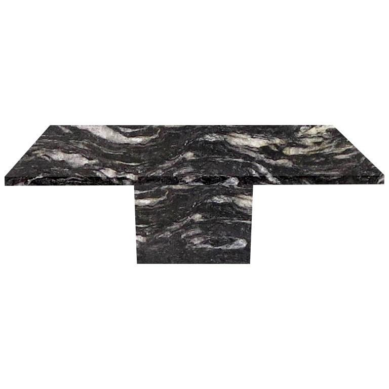 Cosmic Black Torano Granite Dining Table