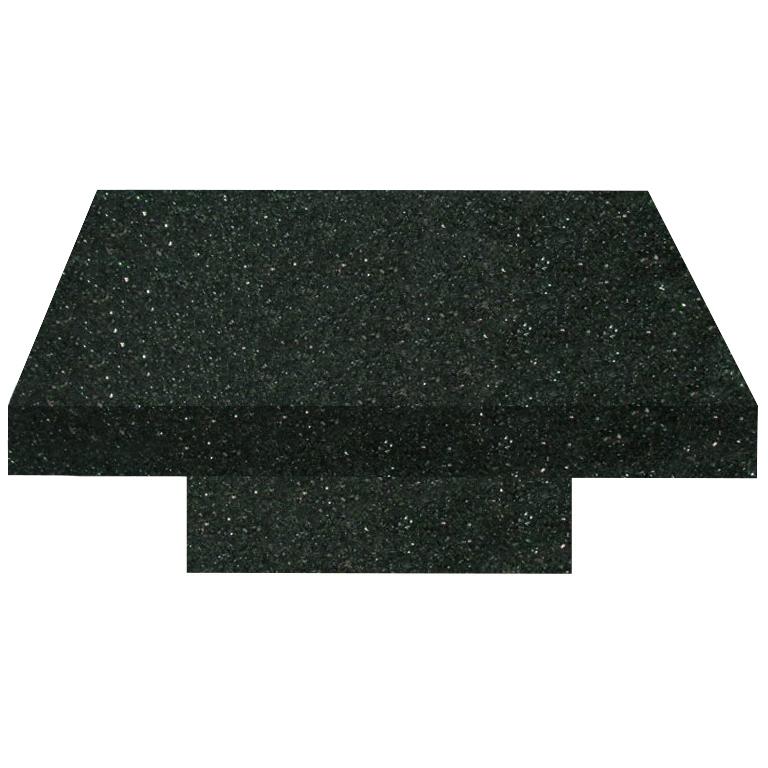 Emerald Pearl Square Solid Granite Coffee Table