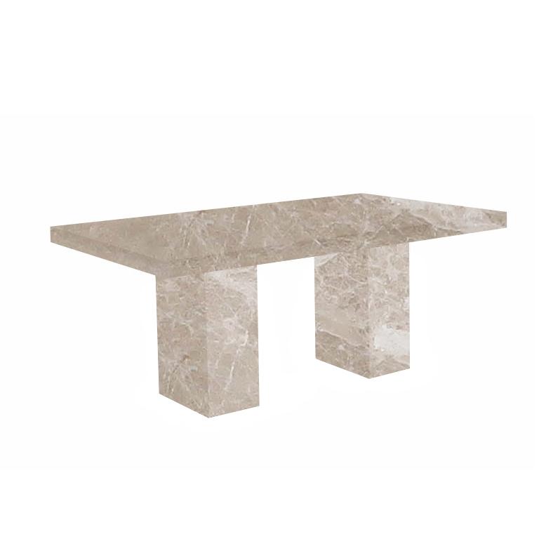 Emperador Light Codena Marble Dining Table