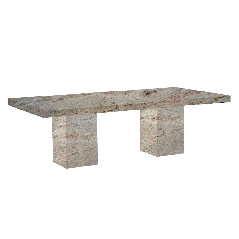Ivory Fantasy Bedizzano 8 Seater Granite Dining Table