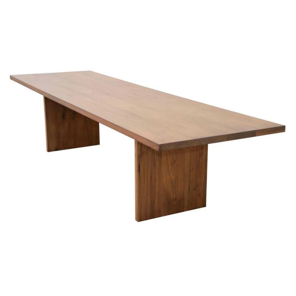 Jandia Rectangular Solid Walnut Dining Table