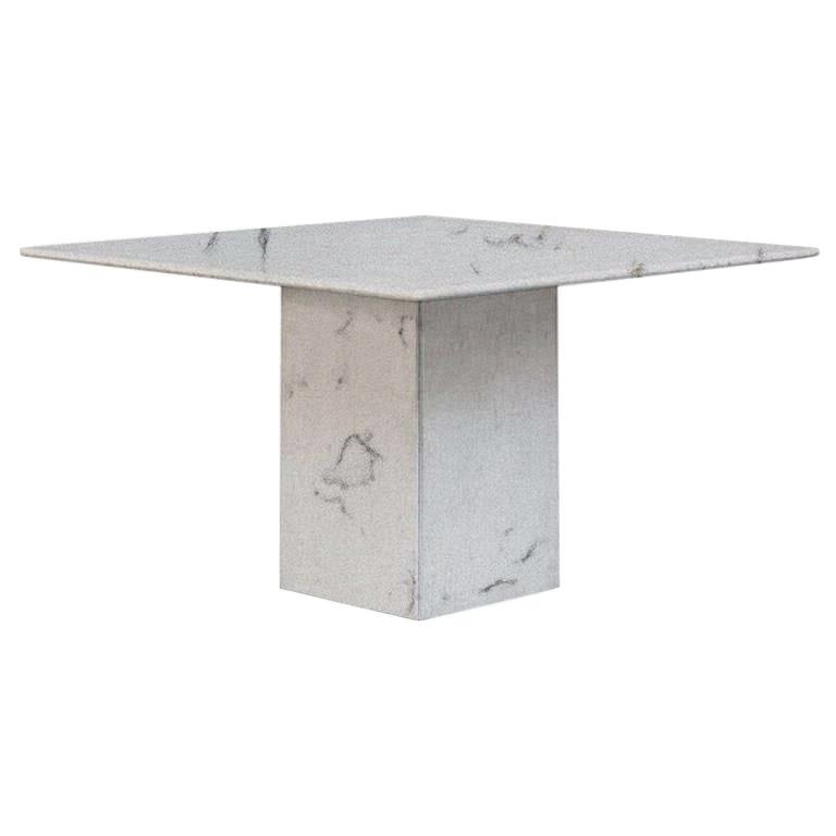 Luni Spring Small Square Quartz Dining Table