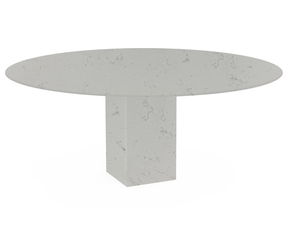 Massa Extra Arena Oval Quartz Dining Table