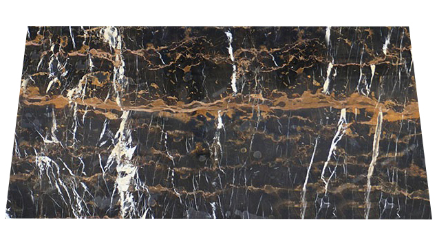 Michelangelo Black and Gold Marble Tiles (300x600x20)