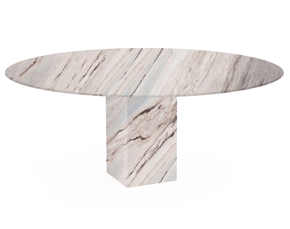 Palissandro Classico Arena Oval Marble Dining Table