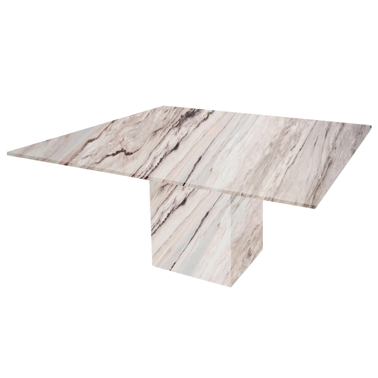 Palissandro Classico Bergiola Square Marble Dining Table
