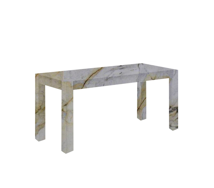 Paonazzo Canaletto Solid Marble Dining Table