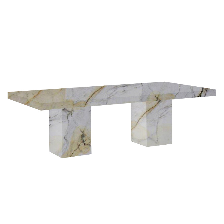 Paonazzo Bedizzano 8 Seater Marble Dining Table