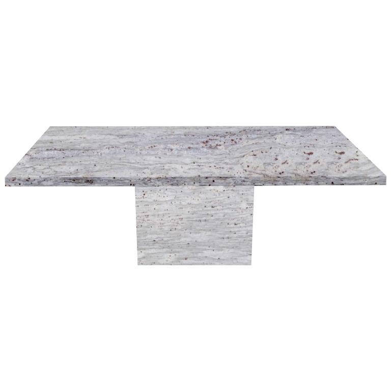 River White Torano Granite Dining Table