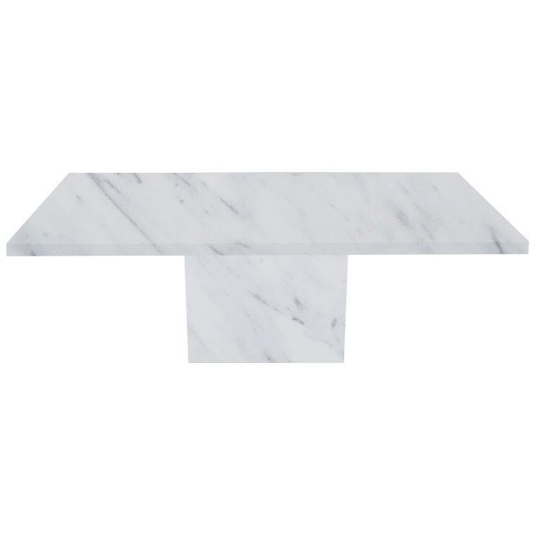 Statuarietto Extra Torano Marble Dining Table
