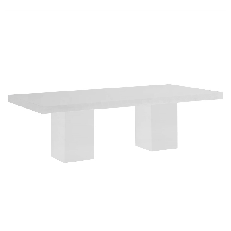Thassos Bedizzano 10 Seater Marble Dining Table