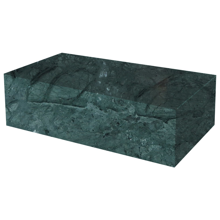 green-solid-marble-coffee-table